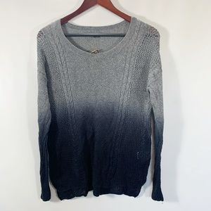 American Eagle Outfitters S Sweater Crew Neck Cabl